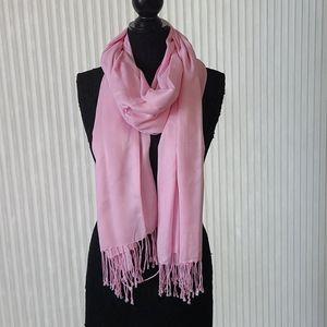 Oversize Pink Scarf/Shawl